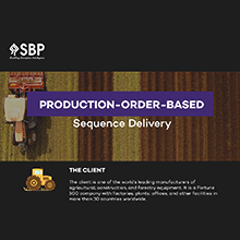 Production-Order-Based Sequence Delivery